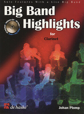Big Band Highlights for Clarinet Sheet Music Book with Play-Along CD
