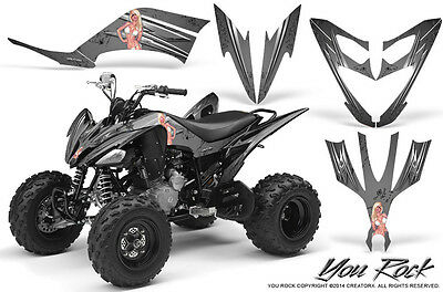 YAMAHA RAPTOR 660 GRAPHICS KIT CREATORX DECALS STICKERS FIREBIRD BR