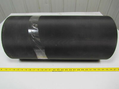 "2 ply black nylon front & back rubber core conveyor belt 40'x22-7/8""x0.165"""
