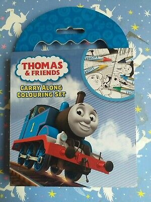 Thomas & Friends Carry Along Colouring Set Brand New