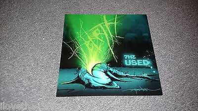 The Used  Promotional  Albm Flat  RARE