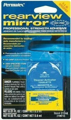 Permatex 81844 Professional Strength Permanent Rearview Mirror Adhesive Glue