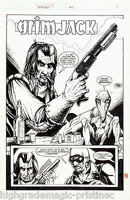 1984 Grimjack #12 Timothy Truman Original Art Complete 20 Page Story