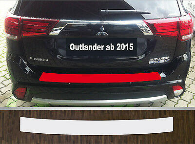 Clear Protective Foil Bumper Transparent Mitsubishi Outlander, from 2015