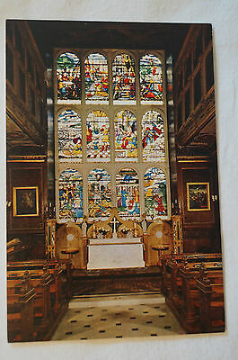 Hatfield House - The Private Chapel - England - Collectable - Postcard.