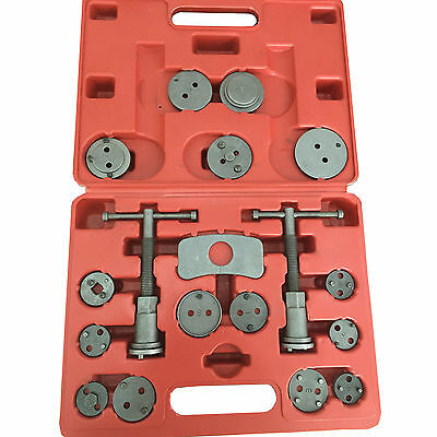 HFS Disc Brake Pad and Caliper Wind Back Tool Kit, 18-Piece