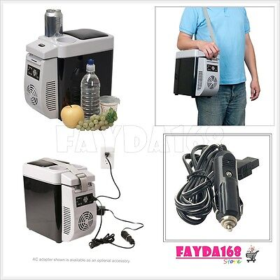 Compact Cooler Warmer Fridge Refrigerator Electric Portable Car Boat Travel 12V
