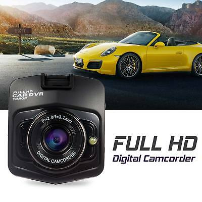 "HD 1080p 2.4"" Car Vehicle Dash Camera Recorder DVR Cam G-Sensor Night Vision UK"
