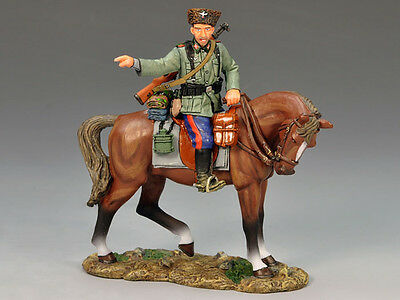 King and (&) Country WS148 - Mounted Cossack Pointing