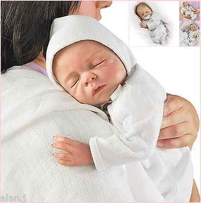 Ashton Drake Cherish lifelike baby doll FREE dummy and a hospital bracelet
