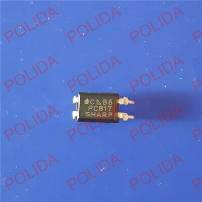 50Pcs Optocoupler Sharp Dip-4 Pc817C Pc817