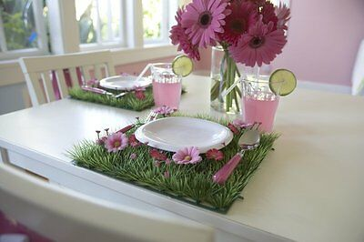 Party Table Decorations Table Decor Flower Placemat For Girls Flower Party