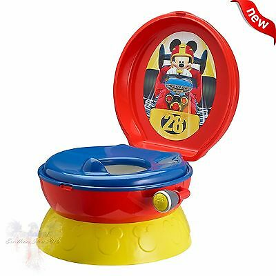 Baby Potty Chair Seat Training Disney 3-In-1 Toddler Kids Children Toilet
