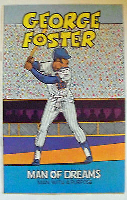 New York Mets Shea Stadium days George Foster comic MAN OF DREAMS 1982