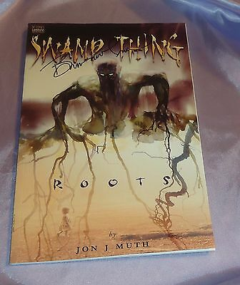 Swamp Thing Roots One Shot~Hand-Signed By Bernie Wrightson~Frankenstein~