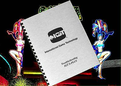 IGT S - PLUS S+ Slot Machine Service & Troubleshooting Guide Owners Manual 1995