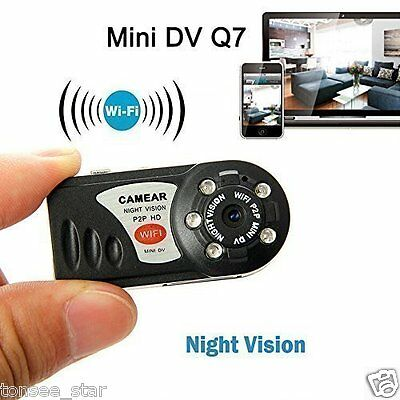 Mini P2P WiFi IP Kamera HD DVR Hidden Spy Camera Video Recorder Indoor/Outdoor
