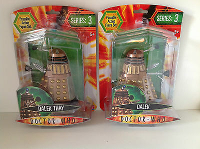 Doctor Who SERIE 3 - DALEK THAY Con Panel Rota O BRONCE Dalek - DR - NUEVO