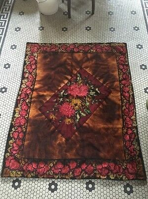 Antique CHASE Mohair/Horsehair Buggy Carriage Lap Sleigh Blanket Vtg Victorian