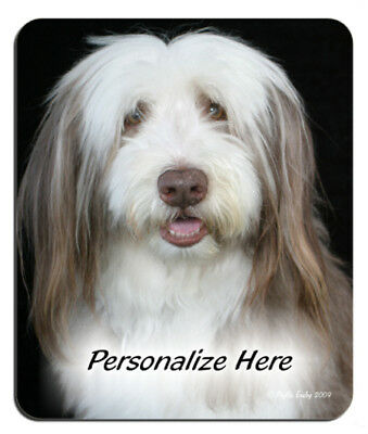 Bearded  Collie  Personalized  Mouse Pad
