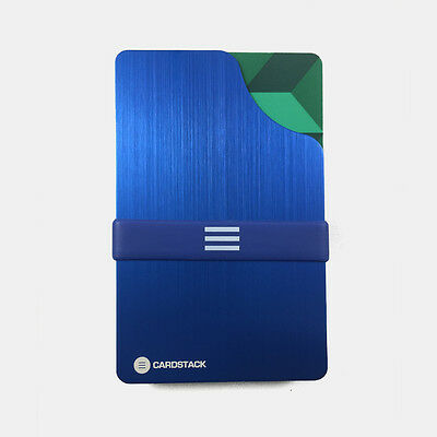 Cardstack Slim / Minimalist & RFID Blocking Wallet (Blue) - Men / Women