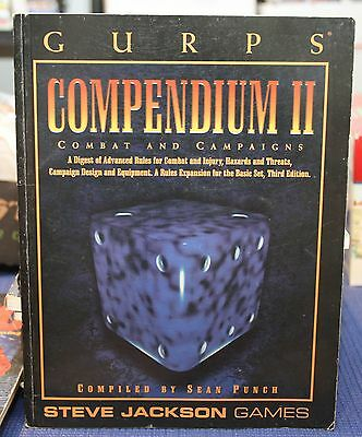 GURPS Compendium II - Combat and Campaigns - Steve Jackson Games