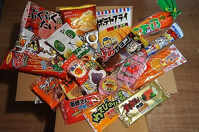 Japanese snack, Selected Dagashi Box, 23 pc set, Snack, Candy, Assortment
