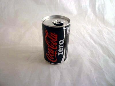 Coca-Cola ZERO lattina 150ml can sample advertising demo tester ITALY ax