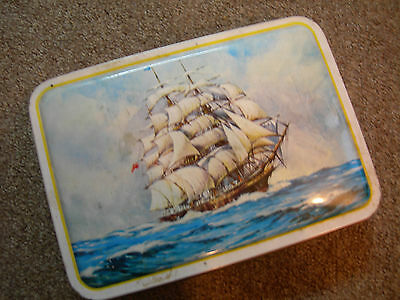 Collectable Vintage Bensons Sweets Tin Cutty Sark Picture Original Box c1950s 60