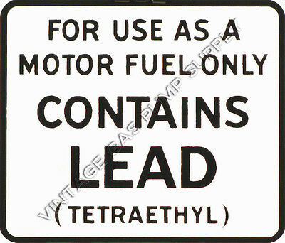 """Contains Lead 6""""x7"""" Vinyl Decal (DC101)"""