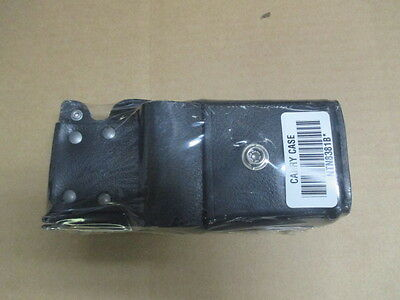 Lot of 2 Motorola NTN8381B Leather Radio Holster Case  HT1000 XTS 3000