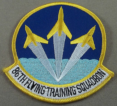 US Air Force 86th Flying Training Squadron Merrowed Edge Patch
