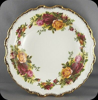 Royal Albert Old Country Roses Ornate Scalloped Round Candy Dish
