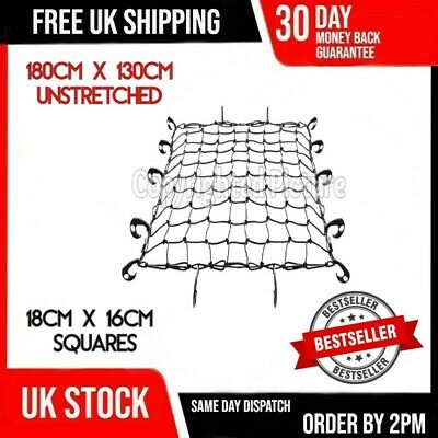 Extra Large Hook Elastic Car Roof Rack Boot Luggage Trailer Bungee Cargo Net