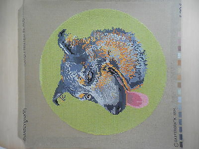 Tapestry Baxtergrafik Completed Australian  Dog Picture Great!