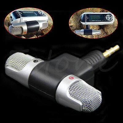 Portable Digital Mini Stereo Voice Mic Microphone Recorder For PC Laptop MD VOIP