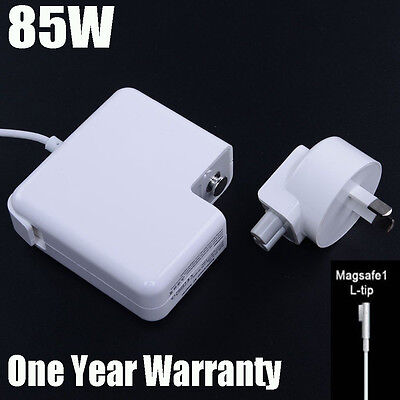 85W AC Power Supply Charger Adapter For Apple Macbook Pro 15'' A1286 Magsafe1