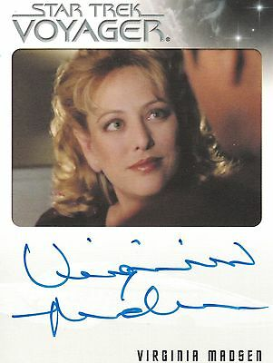 Star Trek Voyager Quotable (2012): Virginia Madsen autograph