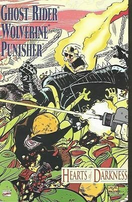 Ghost Rider/wolverine/punisher: Hearts Of Darkness Vf/nm