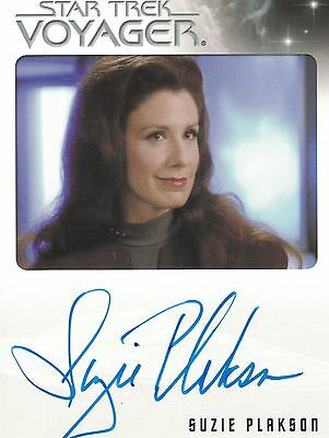 Star Trek Voyager Quotable (2012): Suzie Plakson autograph