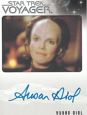 Star Trek Voyager Quotable (2012): Susan Diol autograph