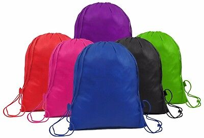 New Bag Drawstring Backpack Gym  Swim Waterproof School Dance Pe.
