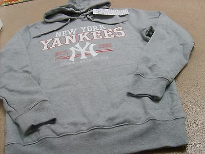 Genuine Majestic Athletic Men's New York Yankees Rascal Hoodie/Baseball Jacket