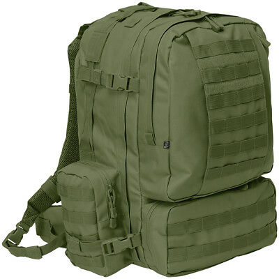Brandit Us Army Cooper 3-Day Pack 50L Military Assault Combat Backpack Olive