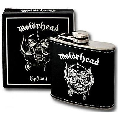 Motorhead - Warpig Stainless steel 6oz Hip Flask - New & Official In Box