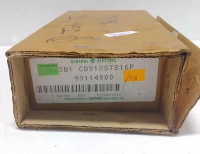 General Electric Control Switch Sb1 Cb912Sts16P Nib