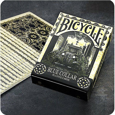 Bicycle Blue Collar Deck - Playing Cards - Magic Tricks - New