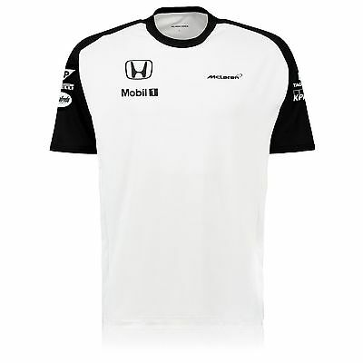 "Official McLaren Honda Men's Official Team T-Shirt 2015, Size: XXL (48/50"")"