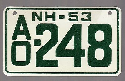 [57336] 1953 General Mills Cereal Prize New Hampshire License Plate