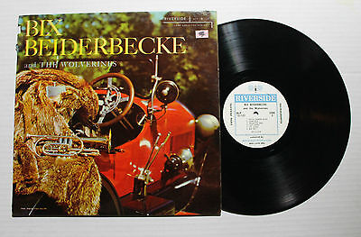 BIX BEIDERBECKE And The Wolverines LP Riverside Rec RLP-12-123 US 1957 VG+ 6G